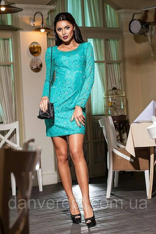 Платье женское модное стильный принт размер 44-48, купить оптом со склада 7км Одесса