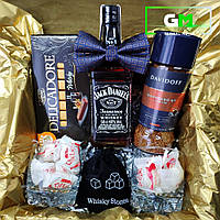 """Подарочный набор, подарок любимому парню, мужчине, мужу, папе, брату,  другу, коллеге, боссу """"Веселый JACK"""""""