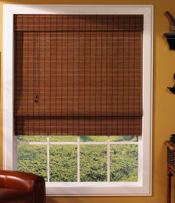 Бамбуковые жалюзи это одно из новейших решений в области декорирования окна