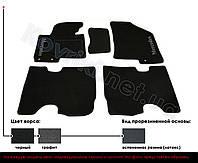 Ворсовые коврики в салон Mazda 626 GE, основа - латекс
