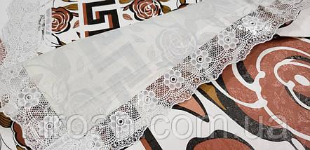 Клеенчатая скатерть намягкой флизелиновой основе 110х140 (110308), фото 2