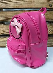 Маленький рюкзак из искусственной кожи розового цвета Hello Kitty