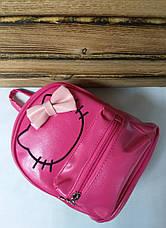 Маленький рюкзак из искусственной кожи розового цвета Hello Kitty, фото 3