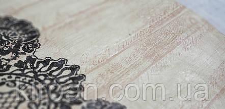 Клеенчатая скатерть на мягкой флизелиновой основе 110х140 (110309), фото 3
