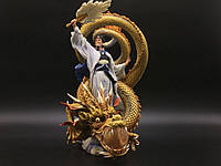 Коллекционная статуэтка Veronese ЧЖУГЭ ЛЯН на драконе WU74503AA