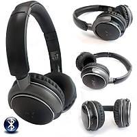 Наушники беспроводные NIA Q1 Bluetooth + Mp3 плеер и Fm