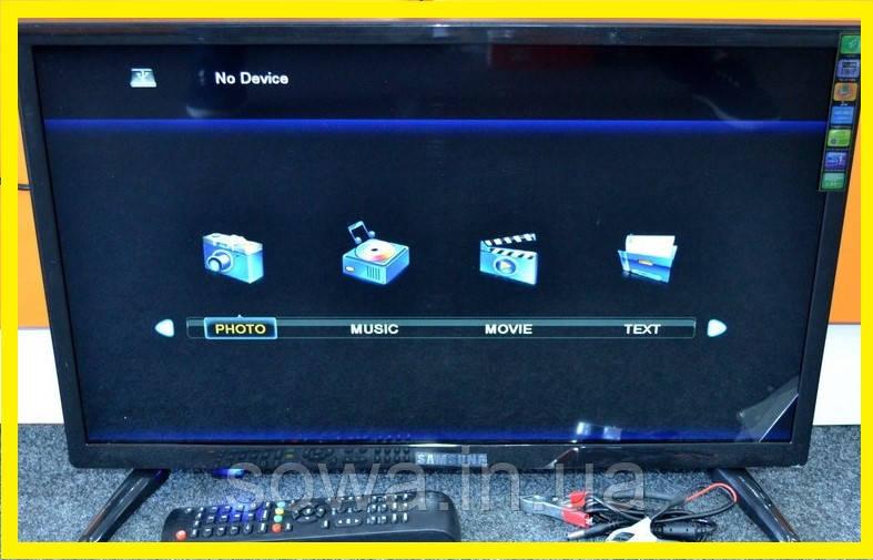 "✔️ Телевизор Samsung 24"" дюйма + Т2 тюнер | Производитель Корея"