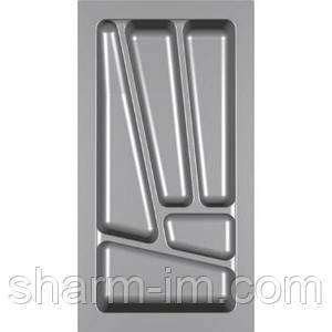 Лоток для столових приладів Verso 300 мм Сірий 230x430x42 мм
