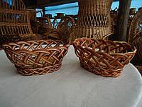 Хлебница из лозы №8