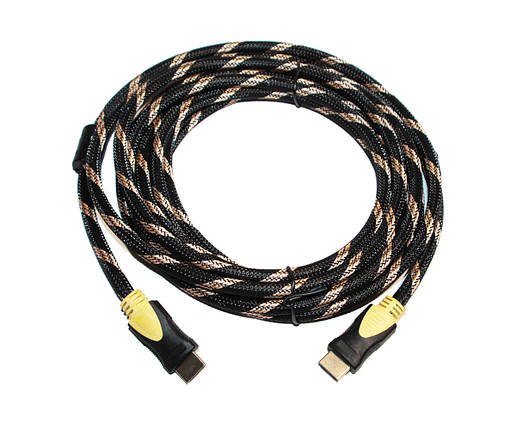 Кабель HDMI to HDMI 5.0m CableHQ VER 1.4 for 3D пакет, фото 2