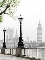 """Печать на обоях """"Лондон. Набережная"""""""