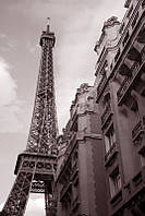 """Печать на обоях """"Эйфелевая башня. Париж"""""""