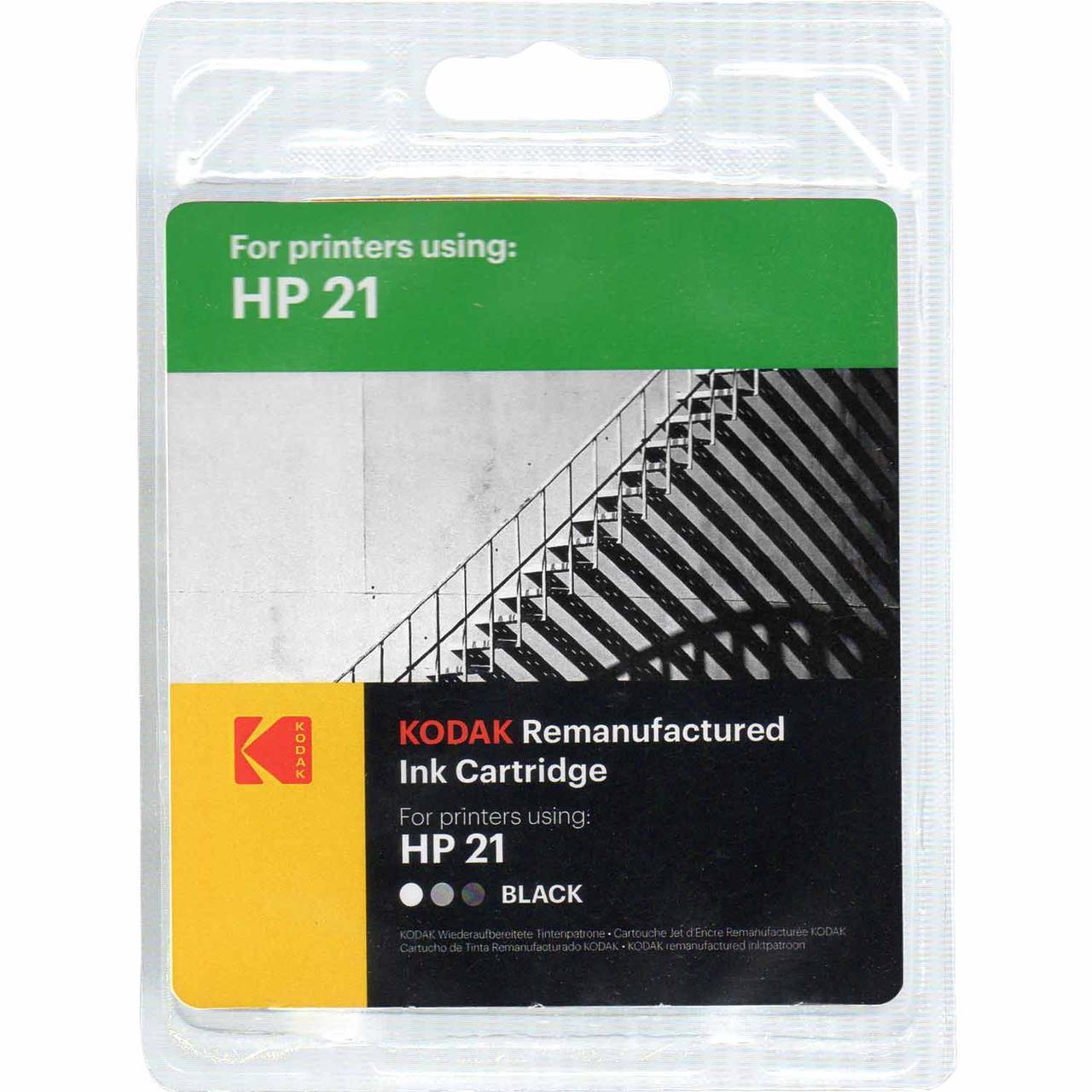 Картридж HP №21 (C9351CE), Black, DJ3920/PSC1410, Kodak (185H002101)