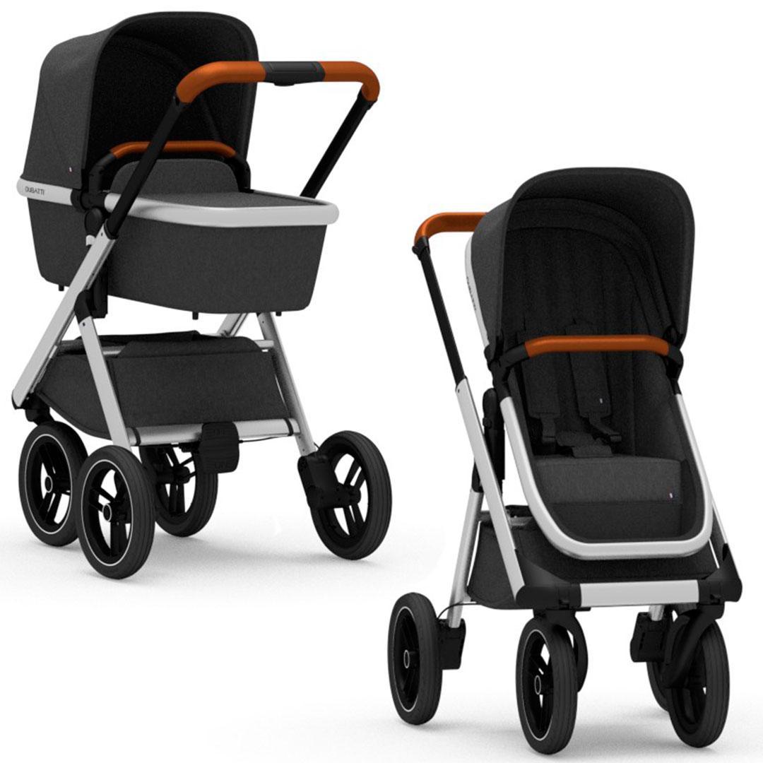 Dubatti - Универсальная коляска 2 в 1 One, цвет Melange Black