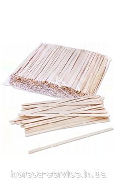Мешалка деревянная (береза ) 180мм х 6мм х 1,4мм - 500 шт, фото 2