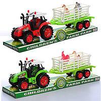 Трактор с прицепом2011-28