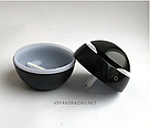 Мини увлажнитель воздуха, ароматизатор и освежитель воздуха с подсветкой (черный), фото 3