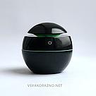 Мини увлажнитель воздуха, ароматизатор и освежитель воздуха с подсветкой (черный), фото 2