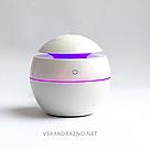 Мини увлажнитель воздуха, ароматизатор и освежитель воздуха с подсветкой (белый), фото 4