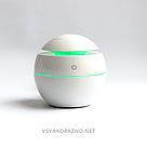 Мини увлажнитель воздуха, ароматизатор и освежитель воздуха с подсветкой (белый), фото 3
