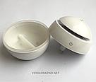 Мини увлажнитель воздуха, ароматизатор и освежитель воздуха с подсветкой (белый), фото 5