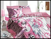 Комплект постельного белья First Choice бамбук Era pembe семейка (kod 3223)