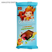 Шоколад молочный СОРВАНЕЦ со сливками Коммунарка  90 г Беларусь