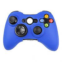 Силиконовый чехол Game Teh X для Xbox 360 Голубой (Арт. 10615)
