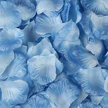 Набор голубых лепестков роз - 100шт.