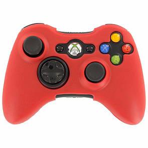 Силиконовый чехол Game Teh X для Xbox 360 Красный (Арт. 10616)