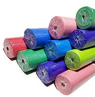 Коврик для йоги, фитнеса и аэробики 1730×610×4мм, PVC, однослойный