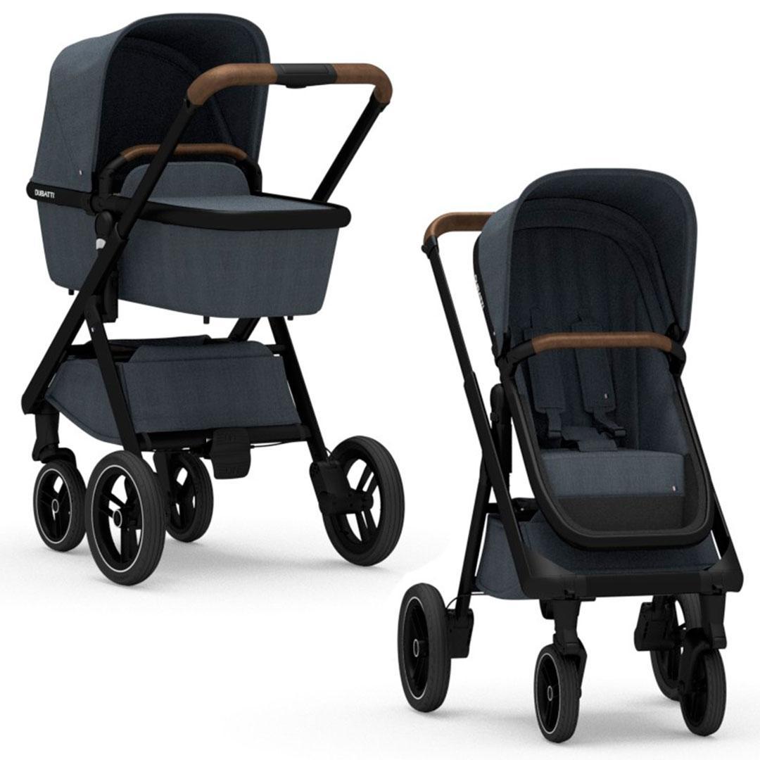 Dubatti - Универсальная коляска 2 в 1 One, цвет Melange Navy