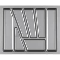 Лоток для столовых приборов Verso 600 мм Серый 530x430x42 мм, фото 1