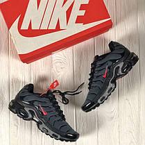 """Кроссовки Nike Air Max TN """"Grey/Red"""" (Серые/Красные), фото 2"""