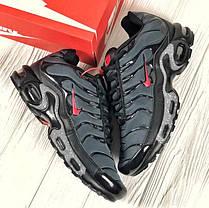 """Кроссовки Nike Air Max TN """"Grey/Red"""" (Серые/Красные), фото 3"""