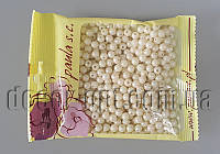 Бусы молочные перл. 6 мм 50 гр АВ