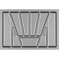 Лоток для столовых приборов Verso 700 мм Серый 630x430x42 мм, фото 1