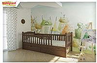 Детская кровать Карина без ящиков (массив сосны) 200*80