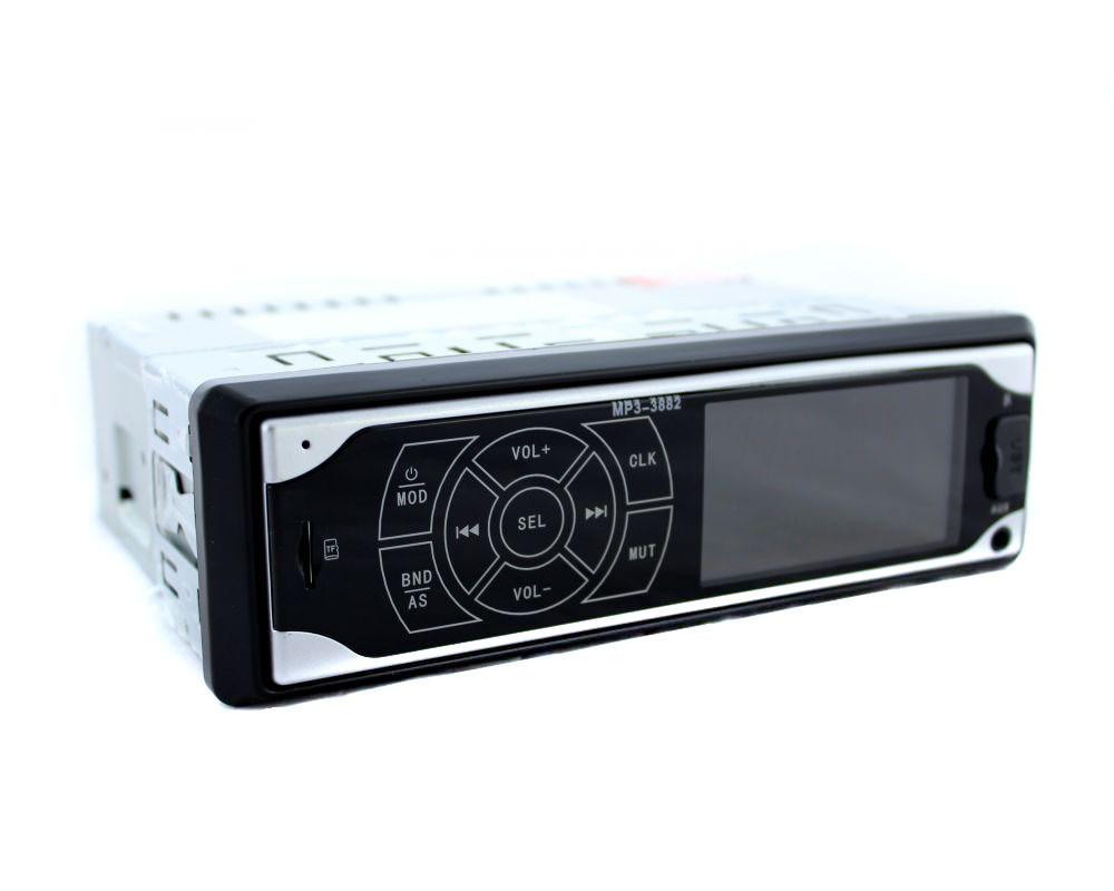 Автомагнітола ISO, 1DIN MP3 3882 сенсорний екран, магнітола 1дин сенсорний дисплей