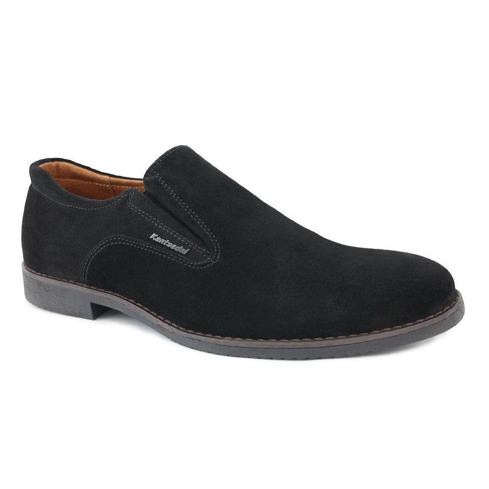 Мужские туфли замша на резинке 40-45
