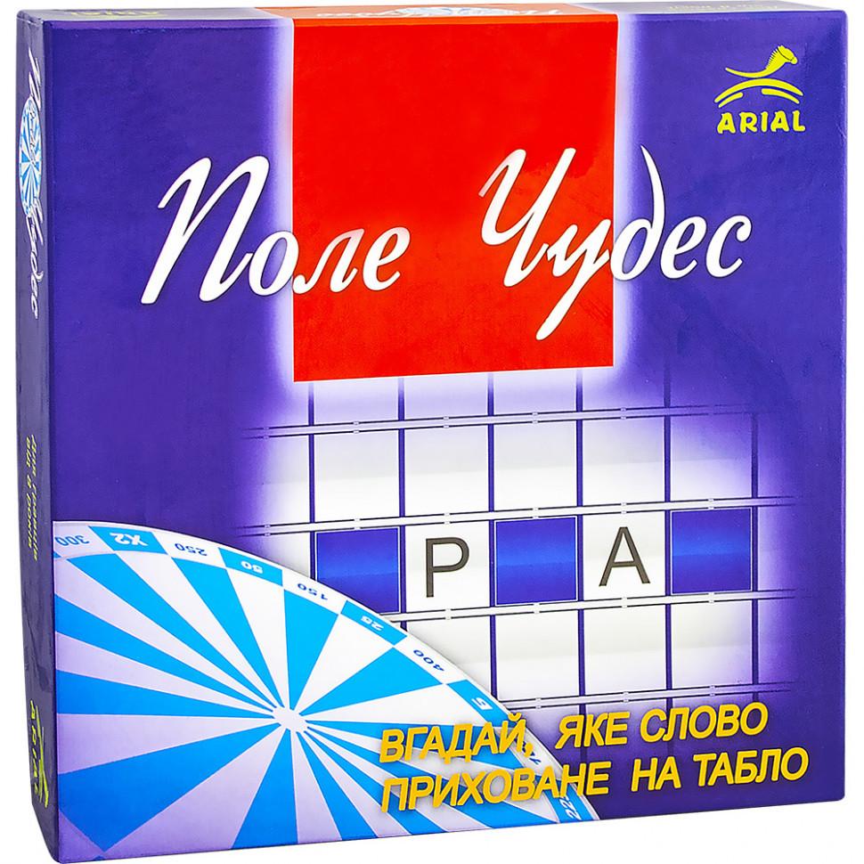 """Настольная игра для всей семьи """"Поле чудес"""" 910237 на украинском языке ТМ Arial / Royaltoys - фото 1"""