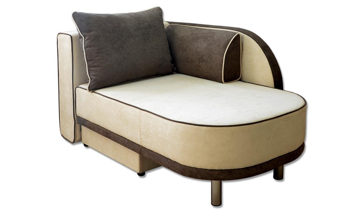 Кушетка диван Паоло, розкладний, з подушками, на ніжках. Під замовлення