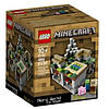 Конструктор Лего Майнкрафт Микро Мир Деревня,Lego Minecraft 21105 Micro World The Village .