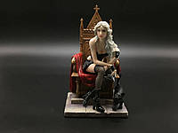 Коллекционная статуэтка Veronese Девушка на троне WU74928AB