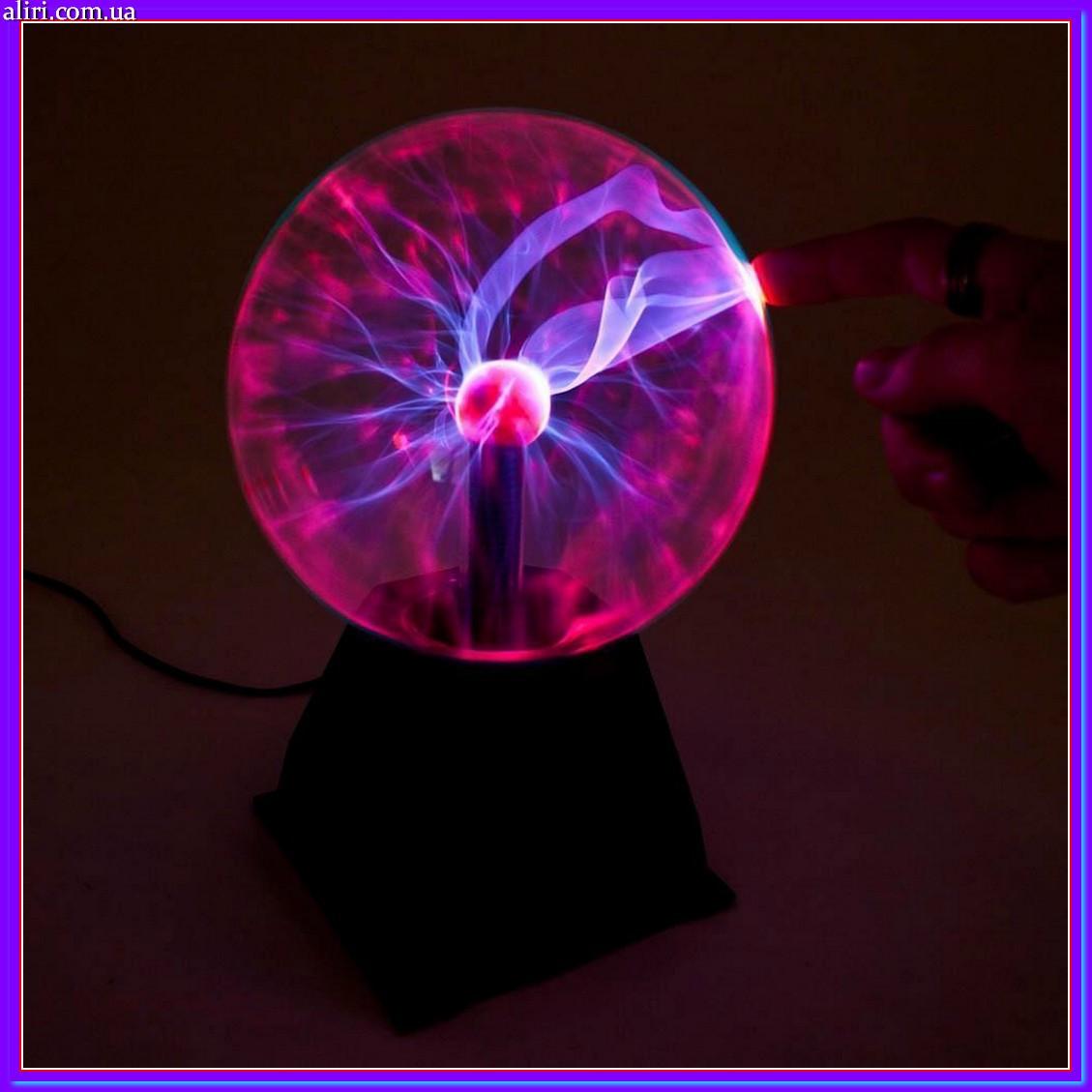 Плазменный шар ночник светильник Plasma Light Ball