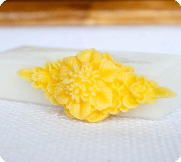 Силиконовый молд цветка