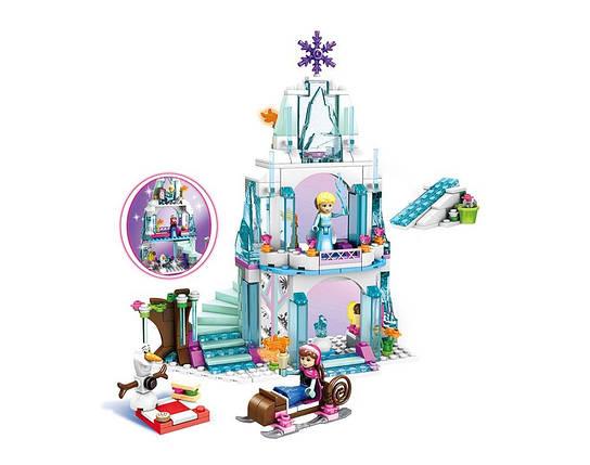 Конструктор JVToy, Принцессы, Ледяной замок Эльзы, 314 деталей (15008), фото 2