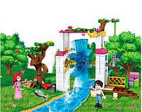 Конструктор JVToy, Принцессы, Сад для принцессы, 471 деталей (15007)