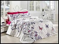 Комплект постельного белья First Choice бамбук Kelebek семейка (kod 3242)