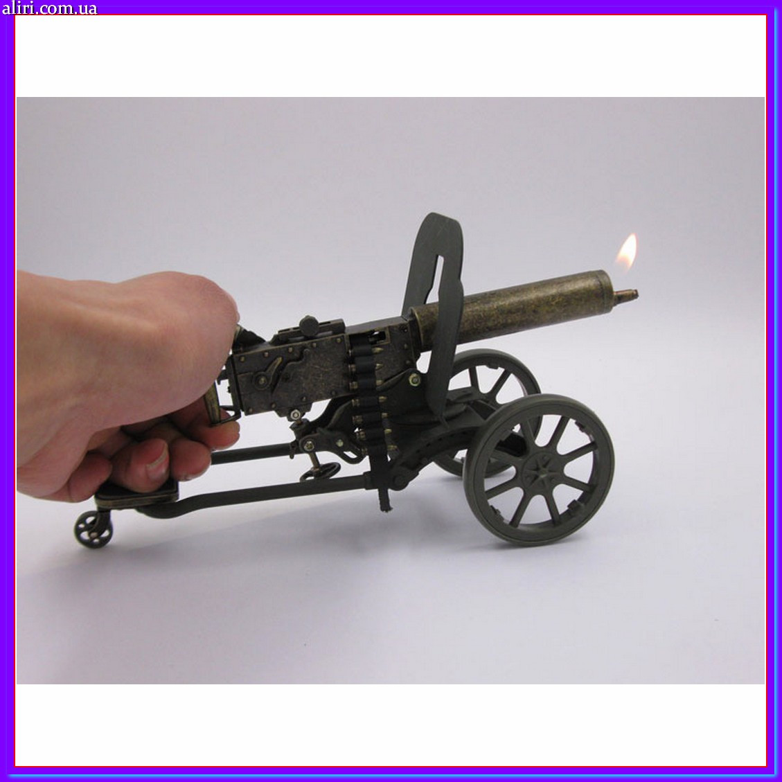 Зажигалка Пулемет максим оригинальный подарок сувенир